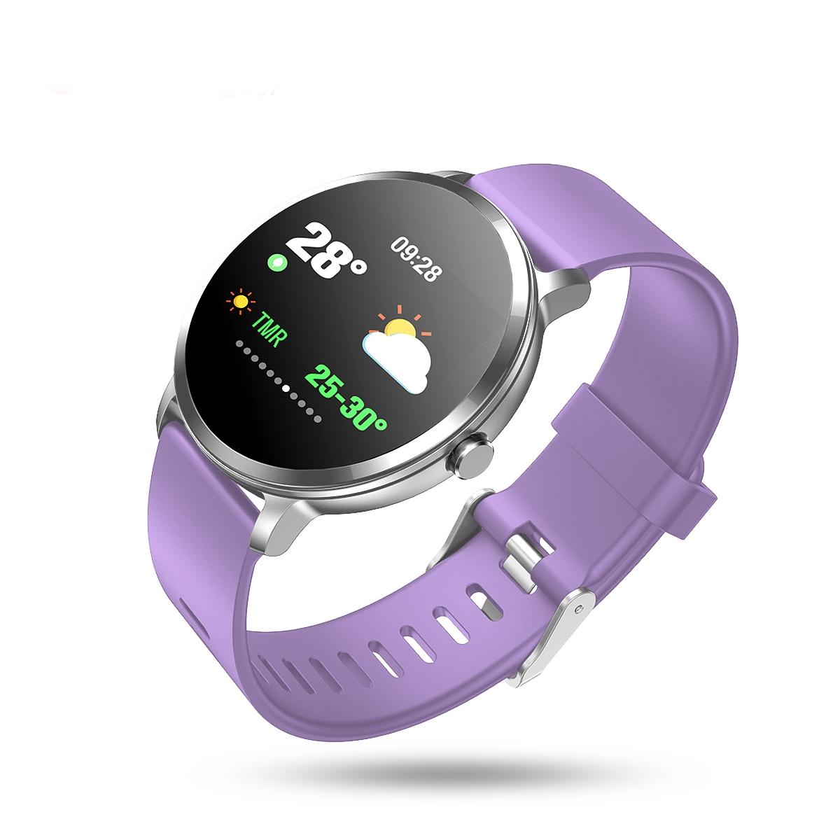 V11 pulzus- és vérnyomásmérő vízálló sport okosóra..