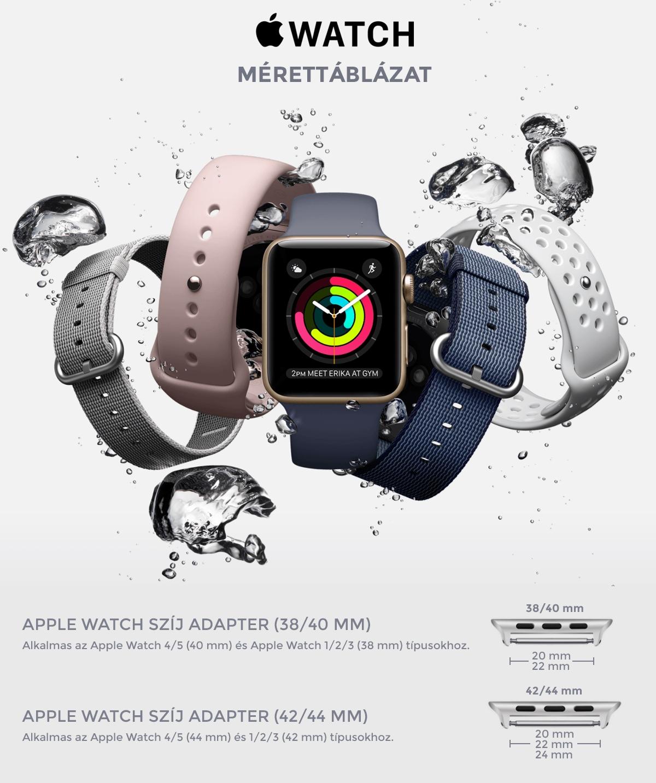 Apple Watch szij adapter