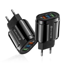 Hálózati töltő adapter 3 db USB csatlakozóval